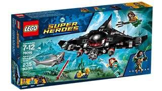 Aquaman Black manta strike set 76095