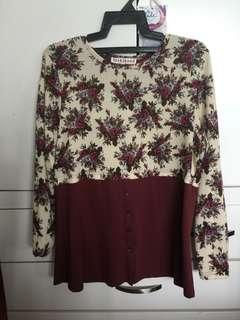 Floral choco Blouse