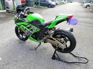 Kawasaki ninja 250r fully loaded
