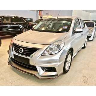 YEAR ORI 2014 Nissan ALMERA 1.5 (NISMO) Like NEW!!