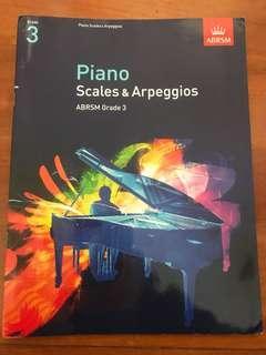 鋼琴琴譜三級