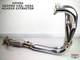 HONDA ACCORD H22 H22A 4-2-1 HEADER EXTRACTOR