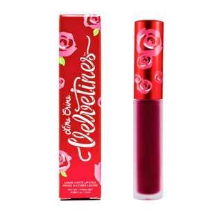 Lime Crime US MATTE VELVETINES / beet it matte lipstick (deep berry-pink)