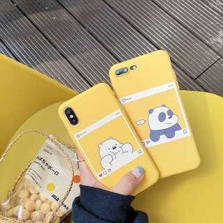 We Bare Bears IPhone XR TPU Case