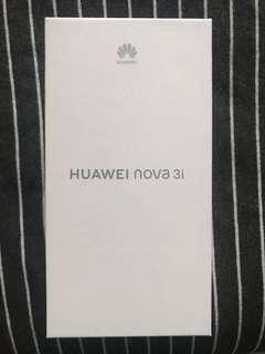 Huawei Nova 3i Black Sealed (BNIB)