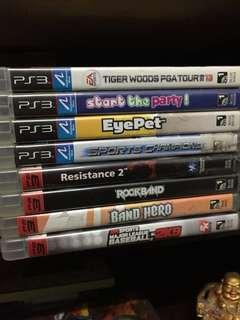 PS3 Games (1200 as pack)