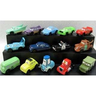 [FREE MAIL!!!] DISNEY PIXAR MCQUEEN CARS Cake Toppers / Figures / Figurines