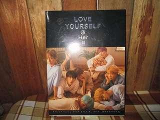 BTS - OFFICIAL LOVE YOURSELF: HER PHOTOBOOK