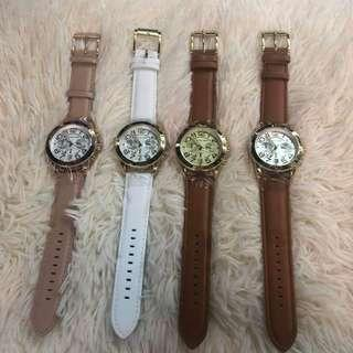 Mk watch leather!