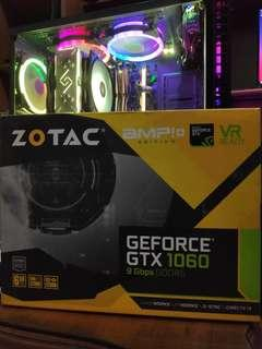 ZOTAC GTX 1060 6GB AMP PLUS 9GBps