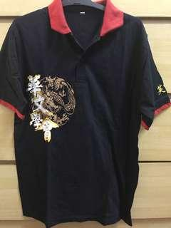 Black Dragon Polo T size XL