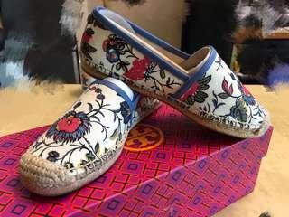 Tory Burch 鞋 平底鞋 布鞋 草鞋