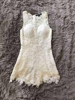 Foreve 21 Lace Romper