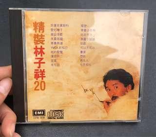 精裝林子祥20 CD 日本 三洋 B7版 少有