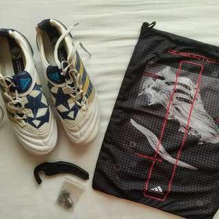 OFFICIAL Adidas Predator X SG CL WHT/MET/SK
