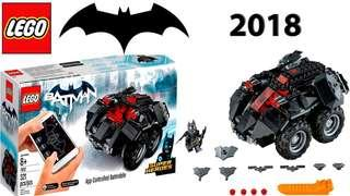 App controlled batmobile set 76112