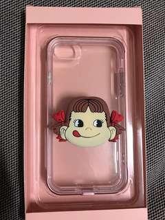iPhone手機殼+牛奶妹手機支架 i7/i/8