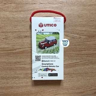UTICO Smartphone Control Bricks Car - Red White Car