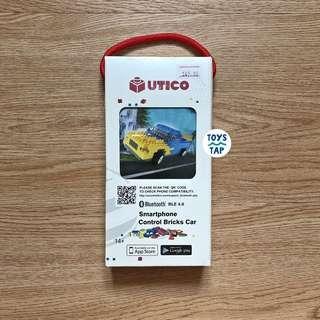 UTICO Smartphone Control Bricks Car - Blue Yellow Car