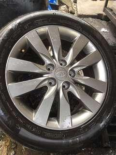 Used Rim 17 inch with tires