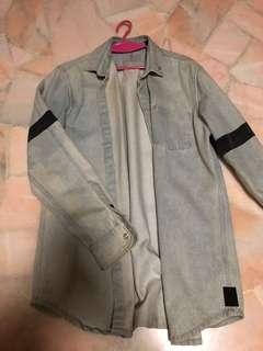 Scotch & Soda Oversized Vintaged Denim Jacket