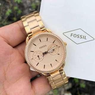 Ogirinal Fossil ES4264 Rosegold Analog ladies womens watch