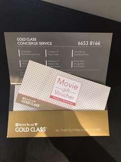 🚚 Golden Village Gold Class Movie Voucher