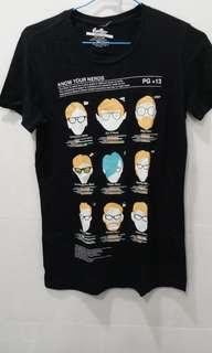 "Threadless ""Know your nerds"" tshirt (womens S size)"