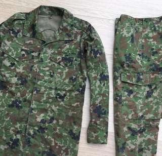 JAPAN Camo Military Cistum