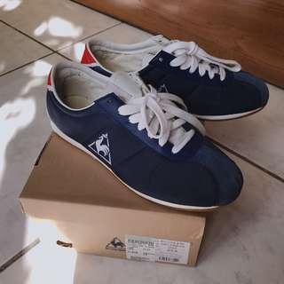 正版 le coq sportif 公雞 經典鞋 深藍 基本款 阿甘 男女鞋 23.0‼️只有一雙‼️買到賺到😆😆