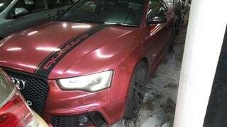Audi A5... 2008  3.2A .. Sticker wrapping..