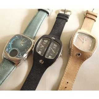 🔃 Faulty Genuine 1x D&G and 3x Smash! Watches