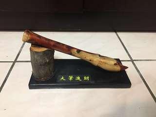 🚚 龍柏文昌筆-純手工雕刻-有緣人可議價