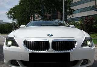 BMW 630Ci sunroof