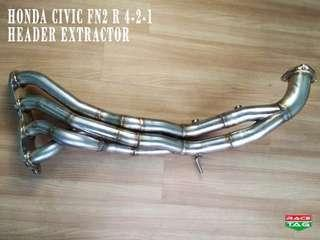 HONDA CIVIC FN2 TYPE-R2 HEADER 4-2-1