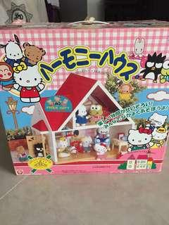 Hello Kitty doll house harmony house Hello friends collection