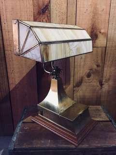 美國手工老桌燈