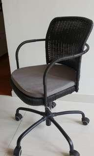 Ikea height adjustable cane chair