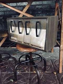 美國咖啡豆盒/儲藏盒