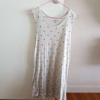 Zara Trafaluc Star Singlet/Dress