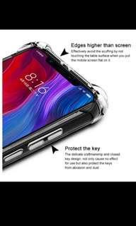 Instock Pocophone F1 transparent case