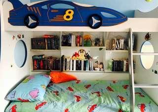 Baby Bunk Bed Car Design