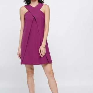 Love Bonito Freydis Cross Front Dress