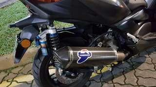 Brand New R&G Exhaust Protection Guards For Xmax Termignoni Endcan