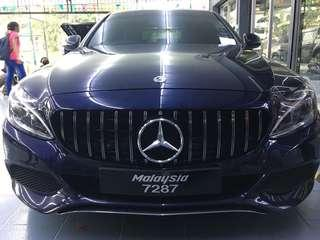 Mercedes w205 AMG GT FRONT GRILL
