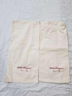 Ferragamo shoe dust bag