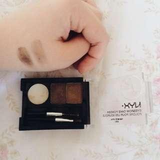 NYX eyebrow powder + pomade