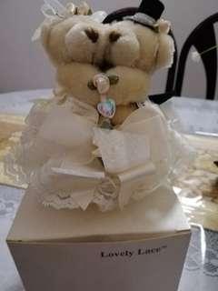 Bride & Bridegroom Teddy
