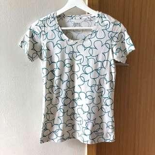 🚚 Uniqlo 100% Cotton Clover Women's T-shirt