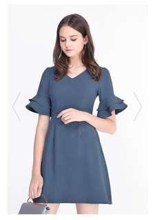 Fayth Baby Blue Dress